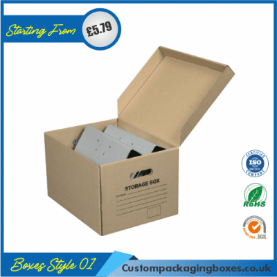 Cardboard Packaging Boxes 01