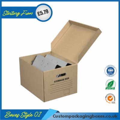 Cardboard Packaging Boxes 01