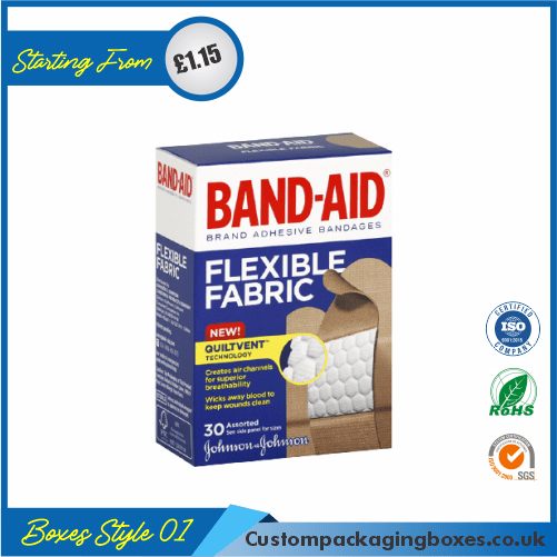 Bandage Packaging Boxes 01