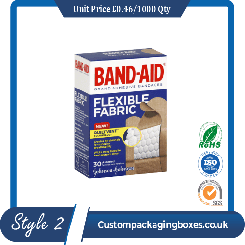 Bandage Packaging Boxes
