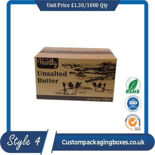 Cream Butter Packaging