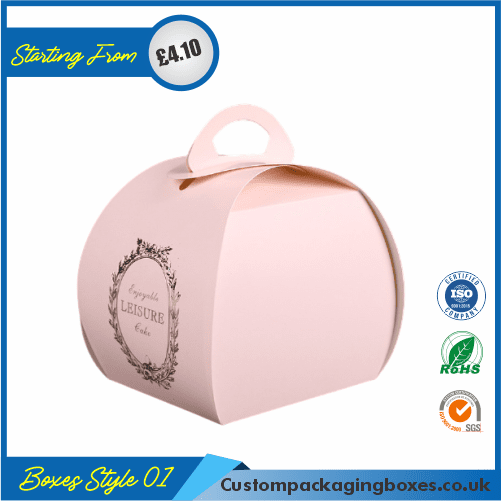 Four Corner Cake Boxes 01