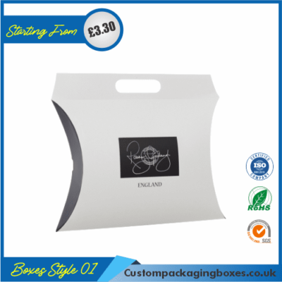Pillow Style Packaging Boxes 01