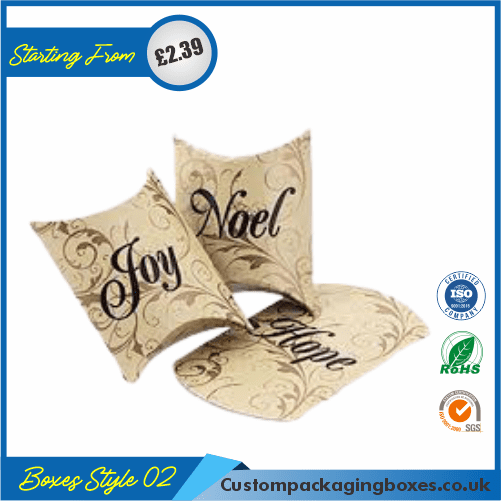 Pillow Style Packaging Boxes 02