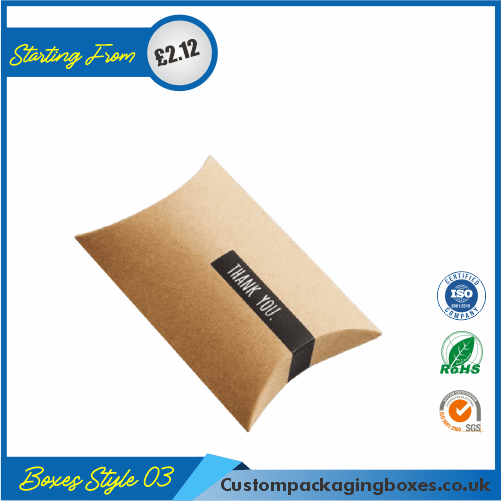 Pillow Style Packaging Boxes 03
