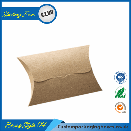 Pillow Style Packaging Boxes 04