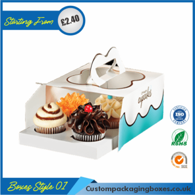 Tuck End Auto Bottom Cupcake Boxes 01