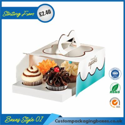 Tuck End Auto Bottom Cupcake Boxes 01