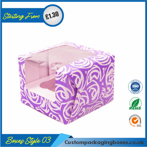 Tuck End Auto Bottom Cupcake Boxes 03