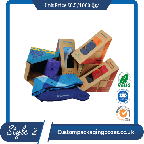 custom socks packaging boxes sample # 2