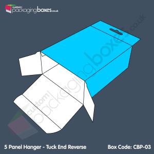 03 - 5 Panel Hanger - Tuck End Reverse