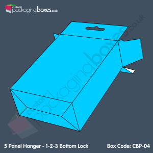 04 - 5 Panel Hanger - 1-2-3 Bottom Lock