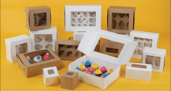 CupCake boxes uk
