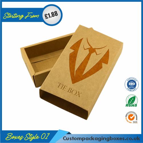 Tie Packaging Boxes – Tie Box 01