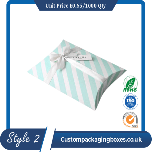 Small Gift Pouch Pillow Box
