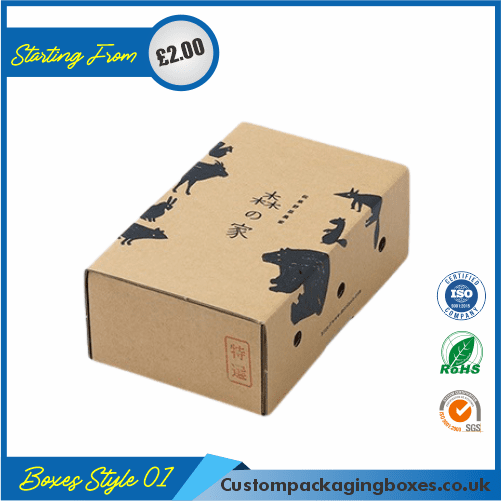 Pack of 100 Small Shipping Boxes with Lid 01