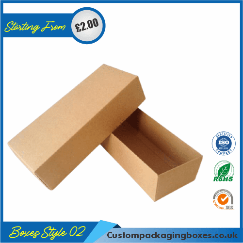 Pack of 100 Small Shipping Boxes with Lid 02