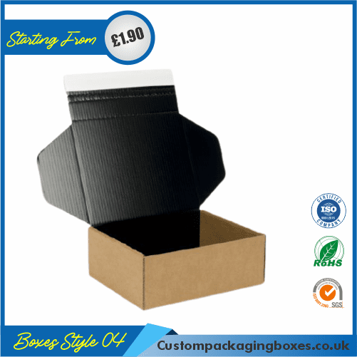 Pack of 100 Small Shipping Boxes with Lid 04