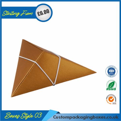 Pack of 100 Tiny Triangular Gift Box 03