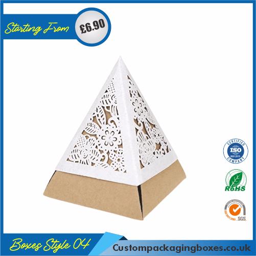 Pack of 100 Tiny Triangular Gift Box 04