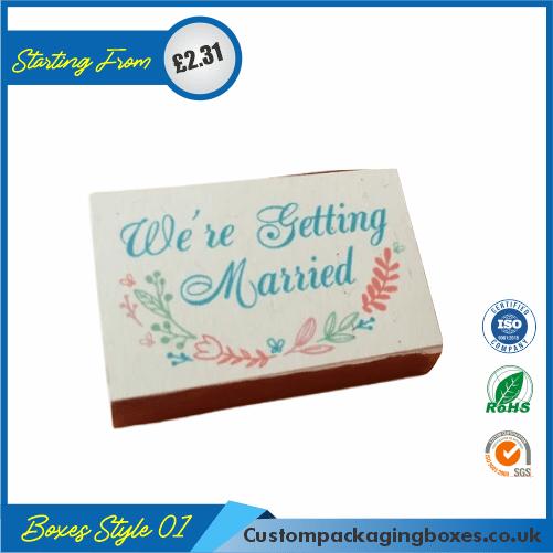 Rectangular Wedding Box 01