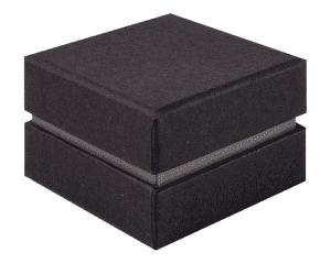 Ring Jewellery Box Black & Grey