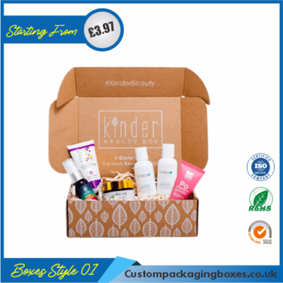 Square Box for Beauty Creams 01