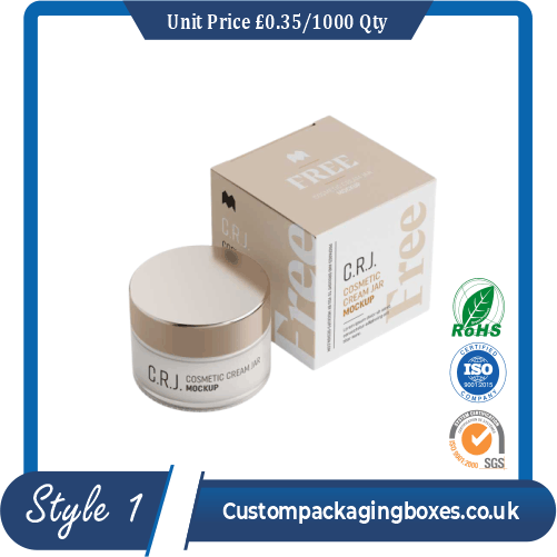 Square Box for Beauty Creams