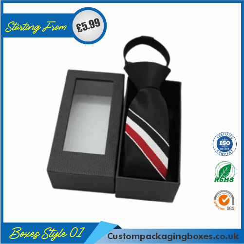 Bottle Gift Box with lid & tie 01