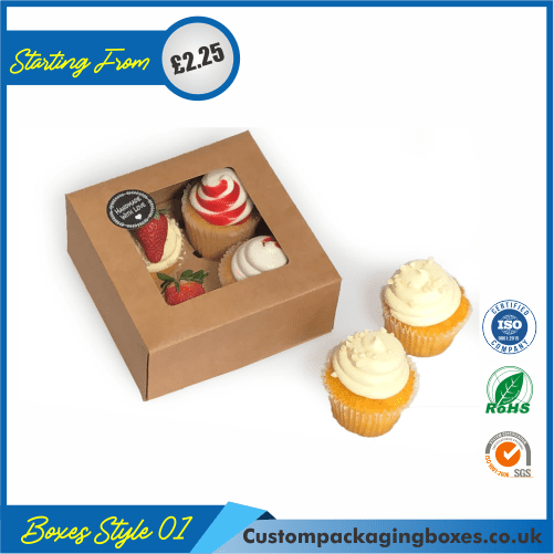 Box For 4 Cupcakes 01