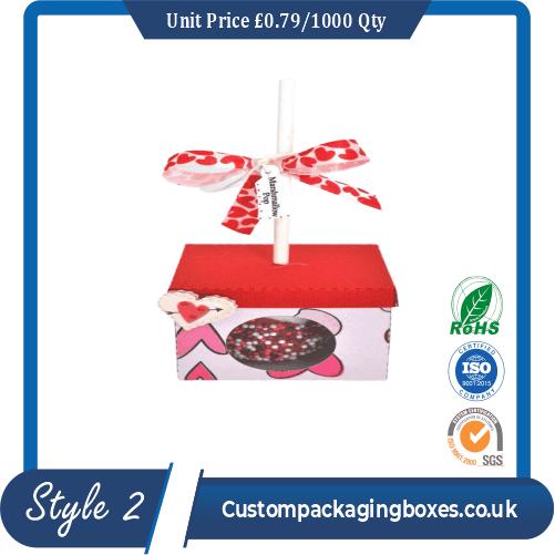 Box For a Single Cake Pop