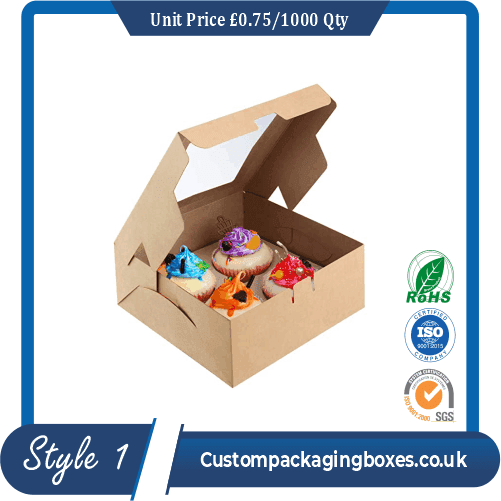 Box for 5 cupcakes