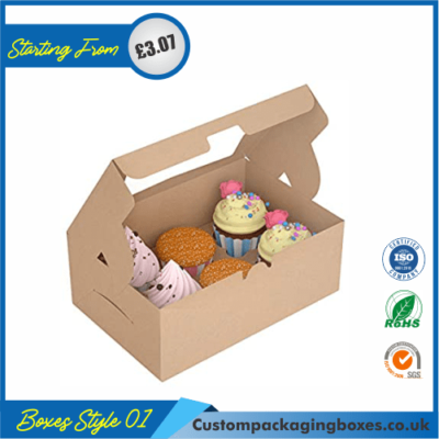 Box for Cupcakes 01