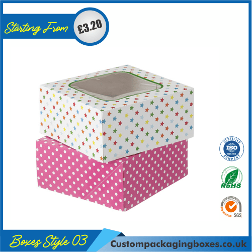 Cake Gift Box with Lid 03