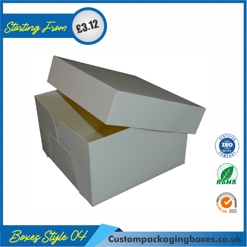Cake Gift Box with Lid 04