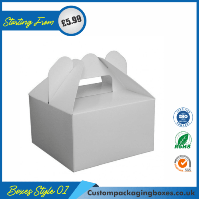 Cake box with handle 01