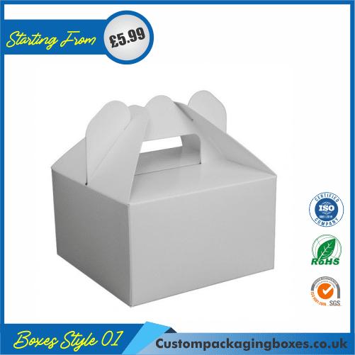 Cake box with handle 01