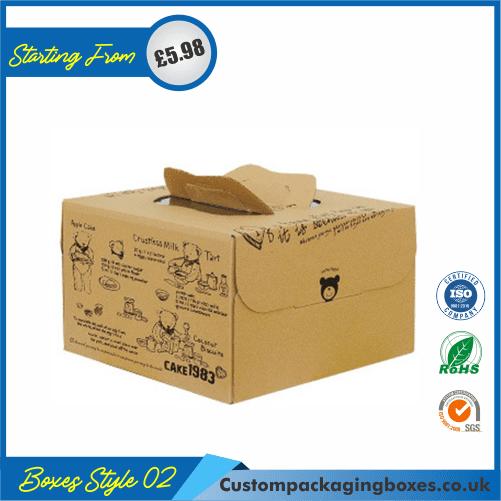 Cake box with handle 02