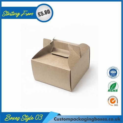 Cake box with handle 03
