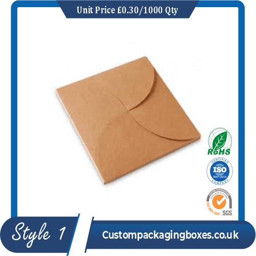 Card Gift Envelope for CDs