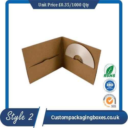 Cardboard Folder For Photos and CDs