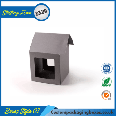 Cardboard House Boxes 01
