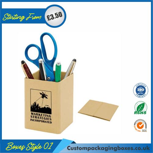Cardboard Pencil Holder 01