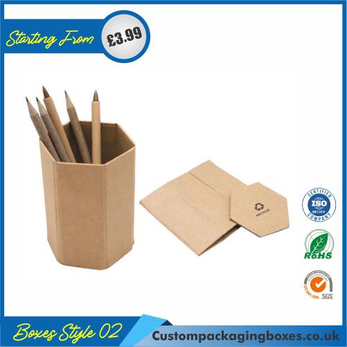 Cardboard Pencil Holder 02