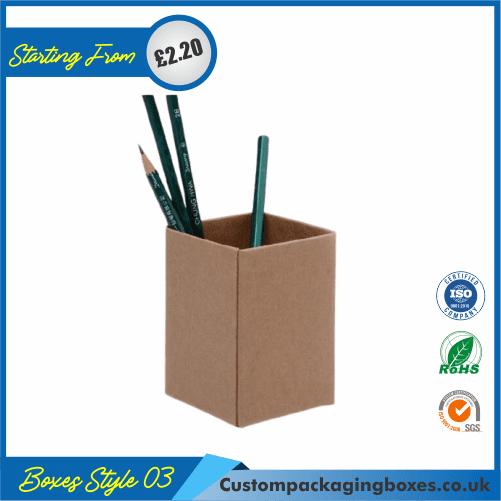Cardboard Pencil Holder 03