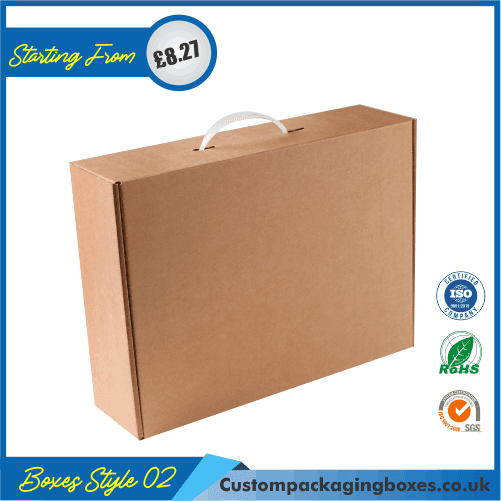 Carrying case box with handle 02