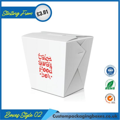 Chinese Take-away gift box 02
