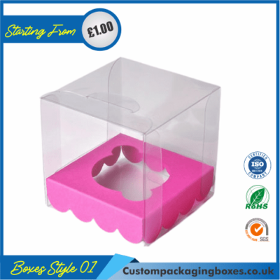 Clear Cupcake Box 01
