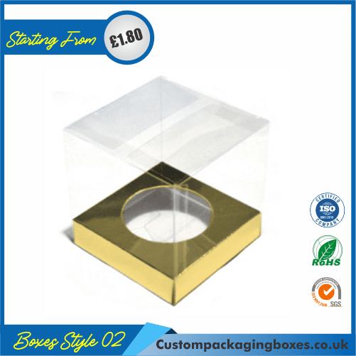 Clear Cupcake Box 02