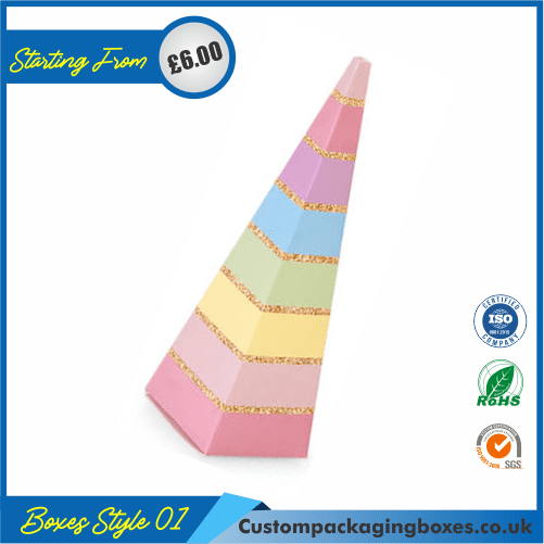 Cone-shaped Party Box 01